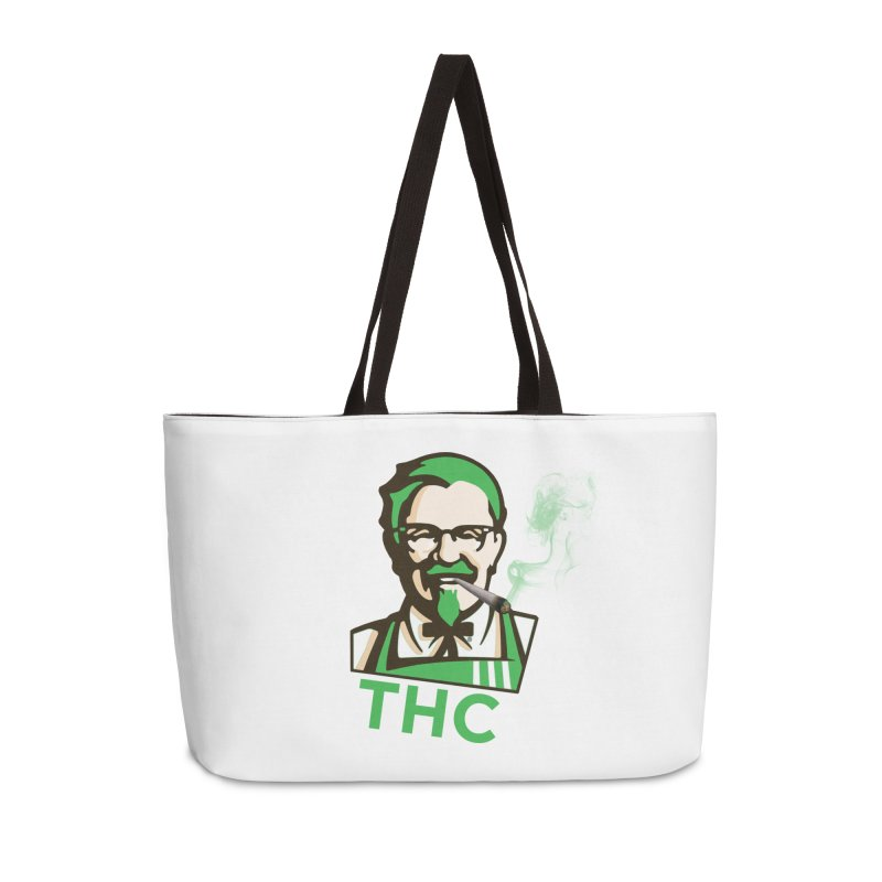 General THC Accessories Weekender Bag Bag by Pbatu's Artist Shop