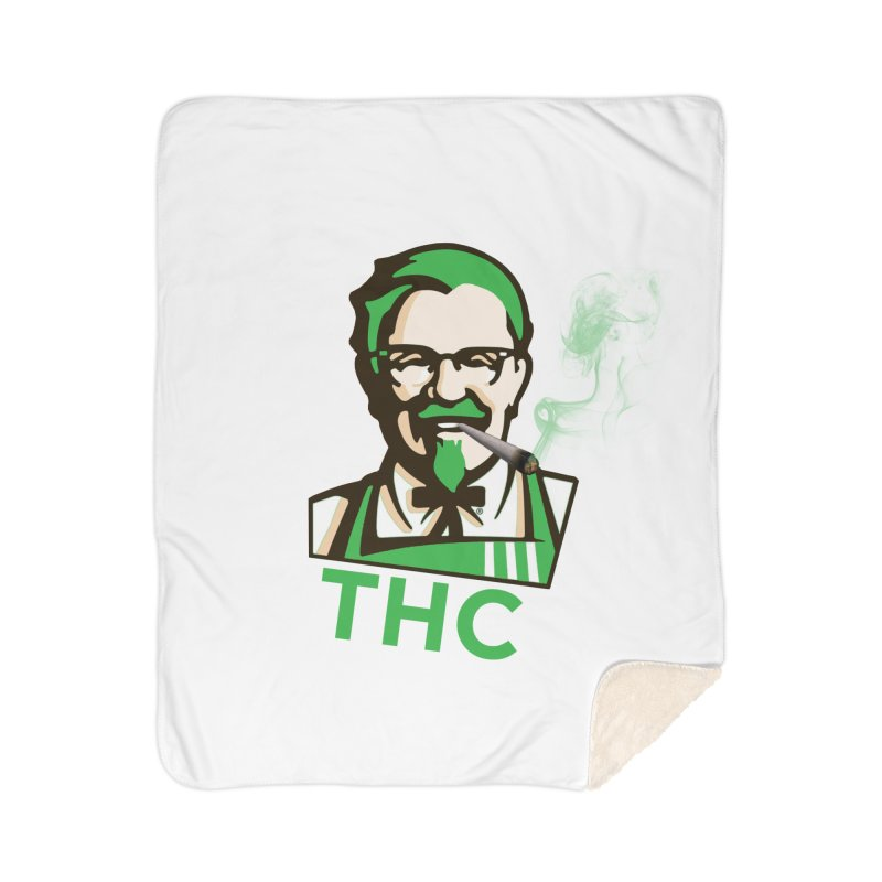 General THC Home Sherpa Blanket Blanket by Pbatu's Artist Shop