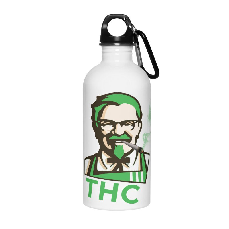 General THC Accessories Water Bottle by Pbatu's Artist Shop