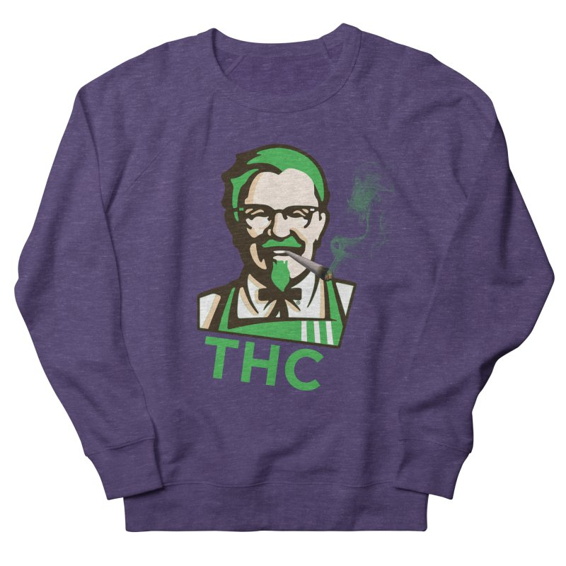 General THC Men's French Terry Sweatshirt by Pbatu's Artist Shop