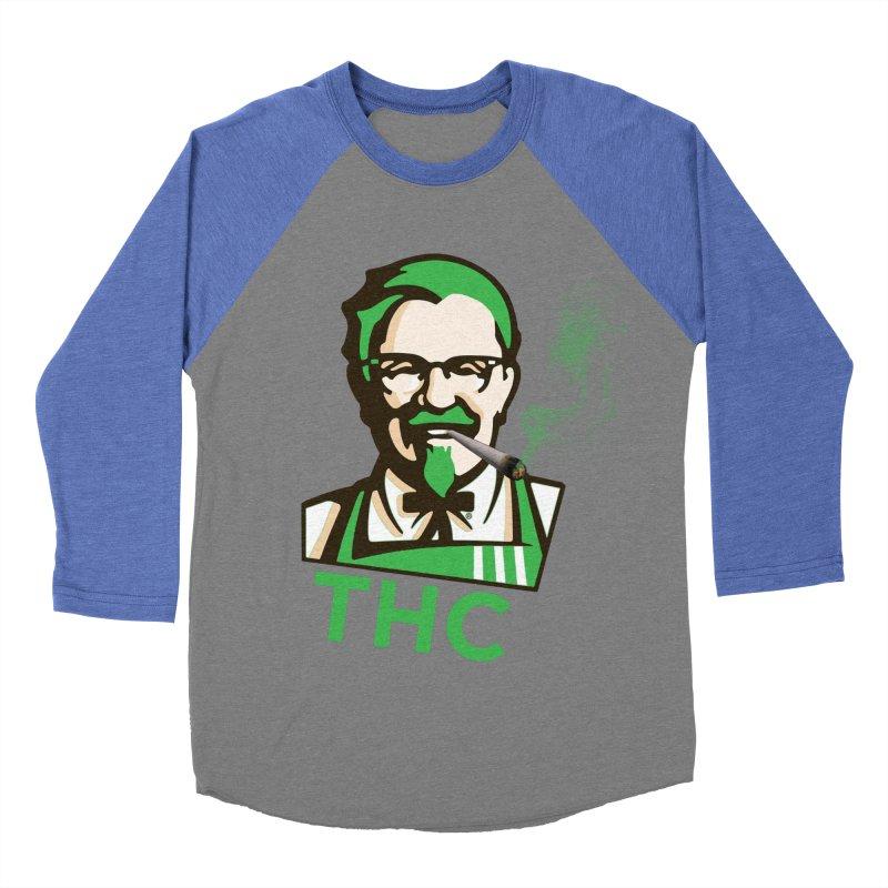 General THC Men's Baseball Triblend Longsleeve T-Shirt by Pbatu's Artist Shop