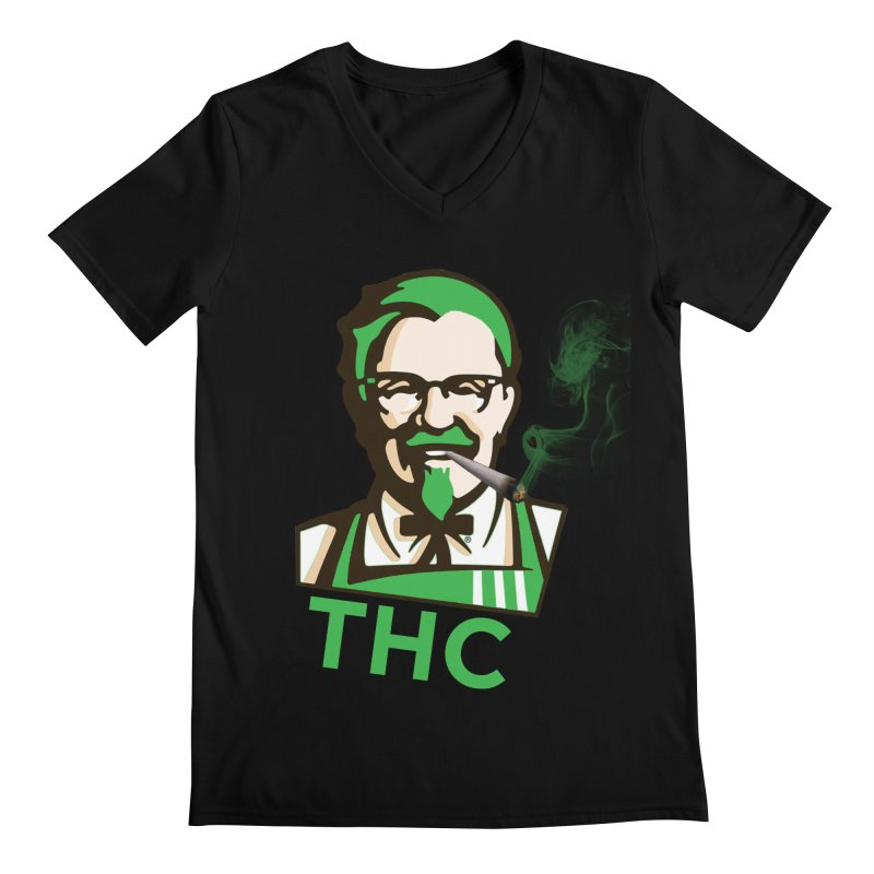 General THC Men's Regular V-Neck by Pbatu's Artist Shop
