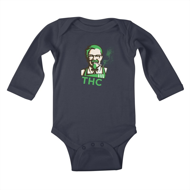 General THC Kids Baby Longsleeve Bodysuit by Pbatu's Artist Shop