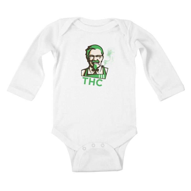General THC Kids Baby Longsleeve Bodysuit by Pbatu's Artist Shop