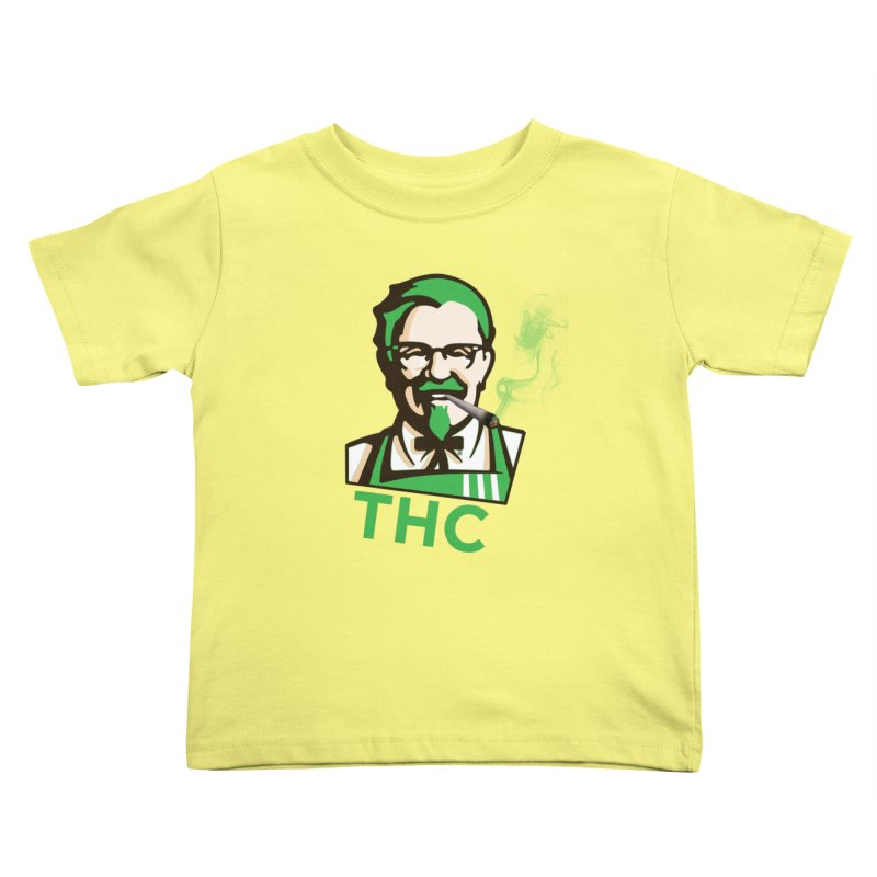 General THC Kids Toddler T-Shirt by Pbatu's Artist Shop