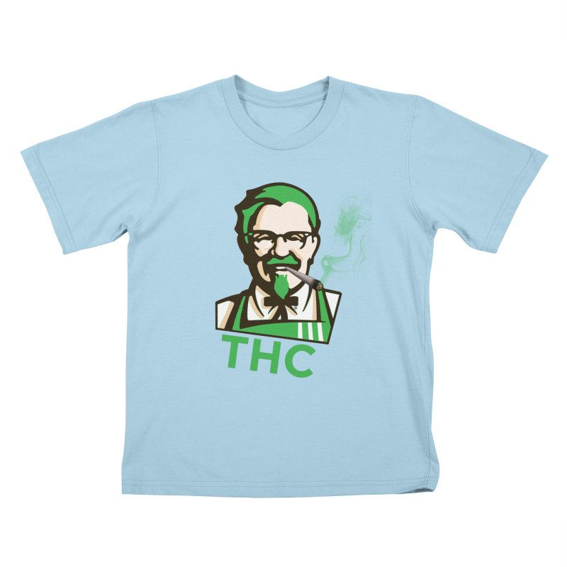General THC Kids T-Shirt by Pbatu's Artist Shop
