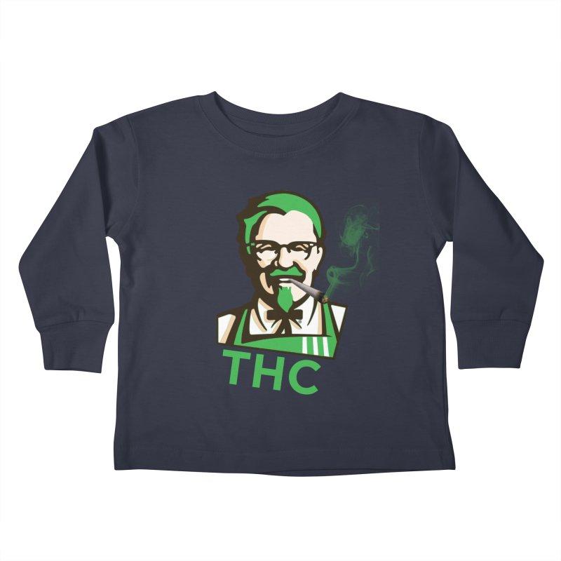 General THC Kids Toddler Longsleeve T-Shirt by Pbatu's Artist Shop