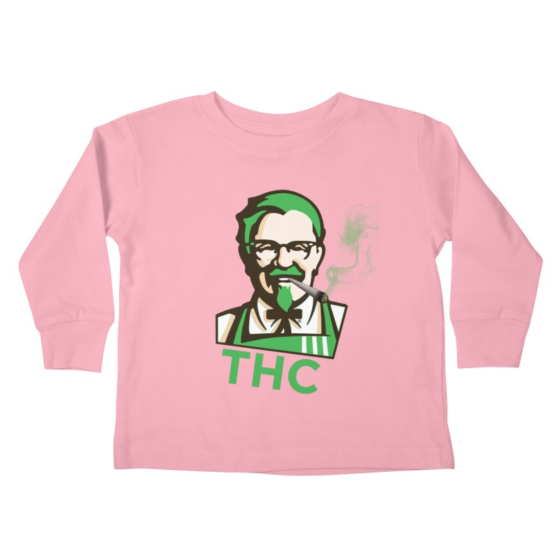 General THC Kids Toddler Longsleeve T-Shirt by Pbatu's Artist Shop