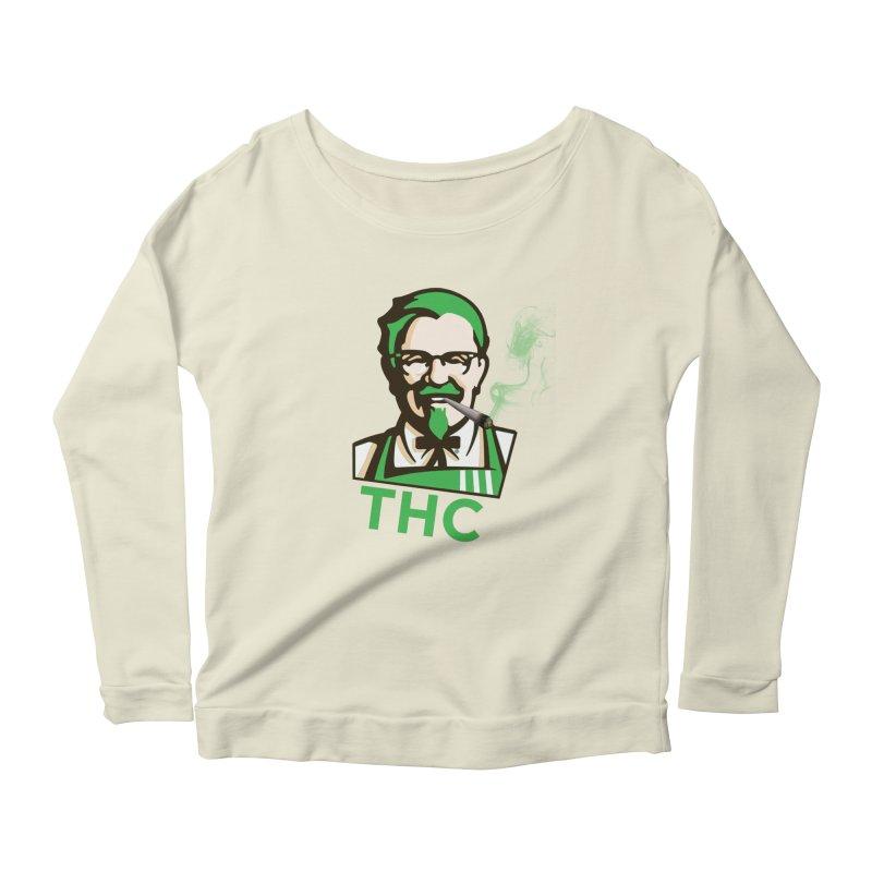 General THC Women's Scoop Neck Longsleeve T-Shirt by Pbatu's Artist Shop