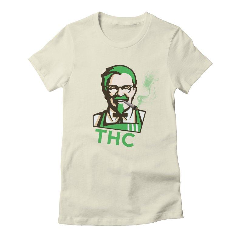 General THC Women's Fitted T-Shirt by Pbatu's Artist Shop