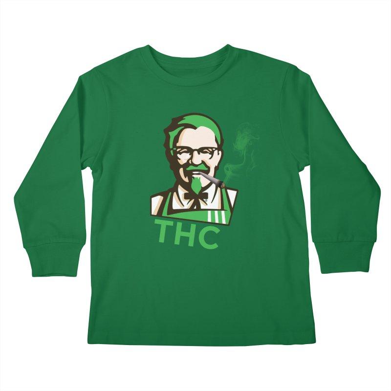 General THC Kids Longsleeve T-Shirt by Pbatu's Artist Shop