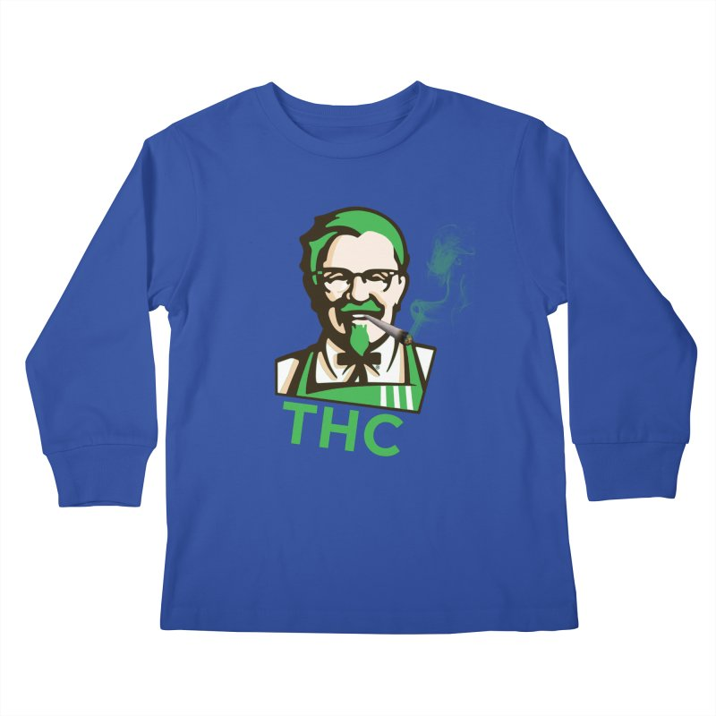 General THC Kids Longsleeve T-Shirt by Pbatu's Artist Shop