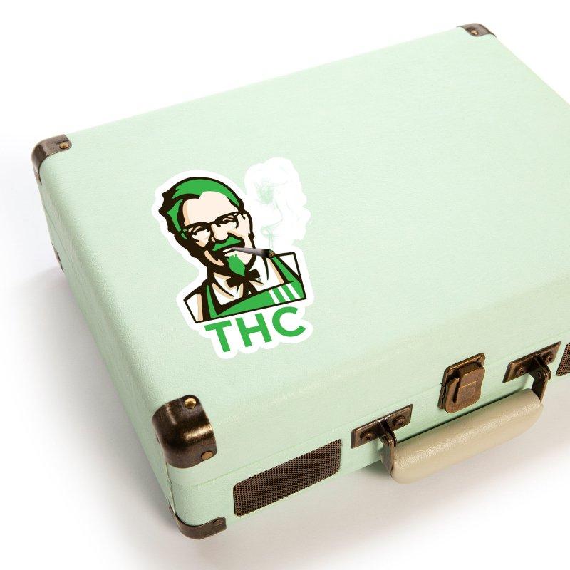 General THC Accessories Sticker by Pbatu's Artist Shop