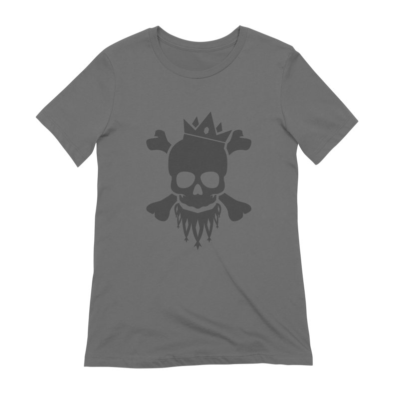 Joker Skull King Women's Extra Soft T-Shirt by Pbatu's Artist Shop