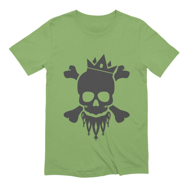 Joker Skull King Men's Extra Soft T-Shirt by Pbatu's Artist Shop