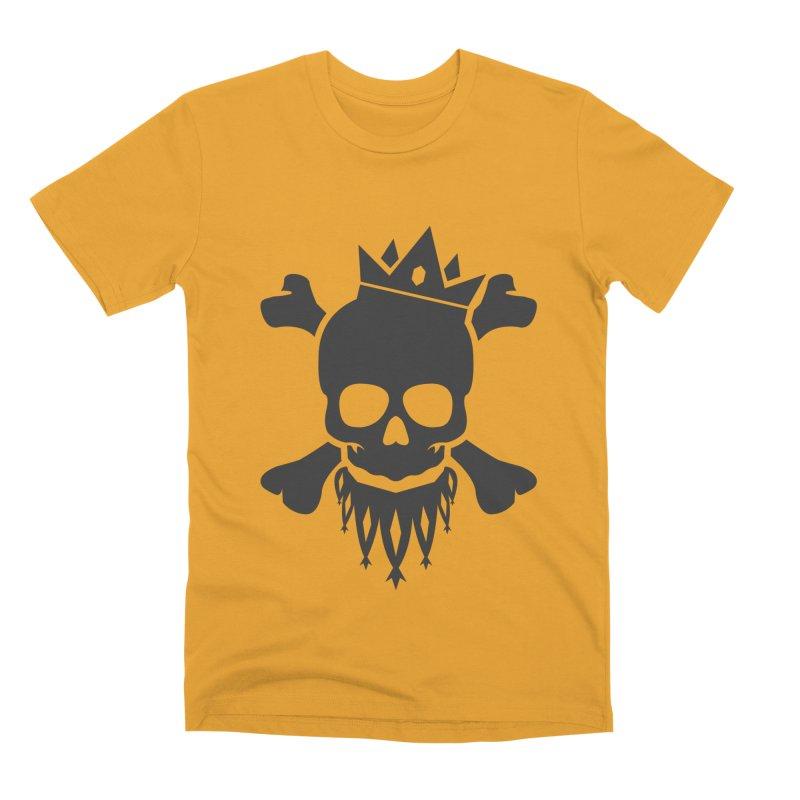 Joker Skull King Men's Premium T-Shirt by Pbatu's Artist Shop