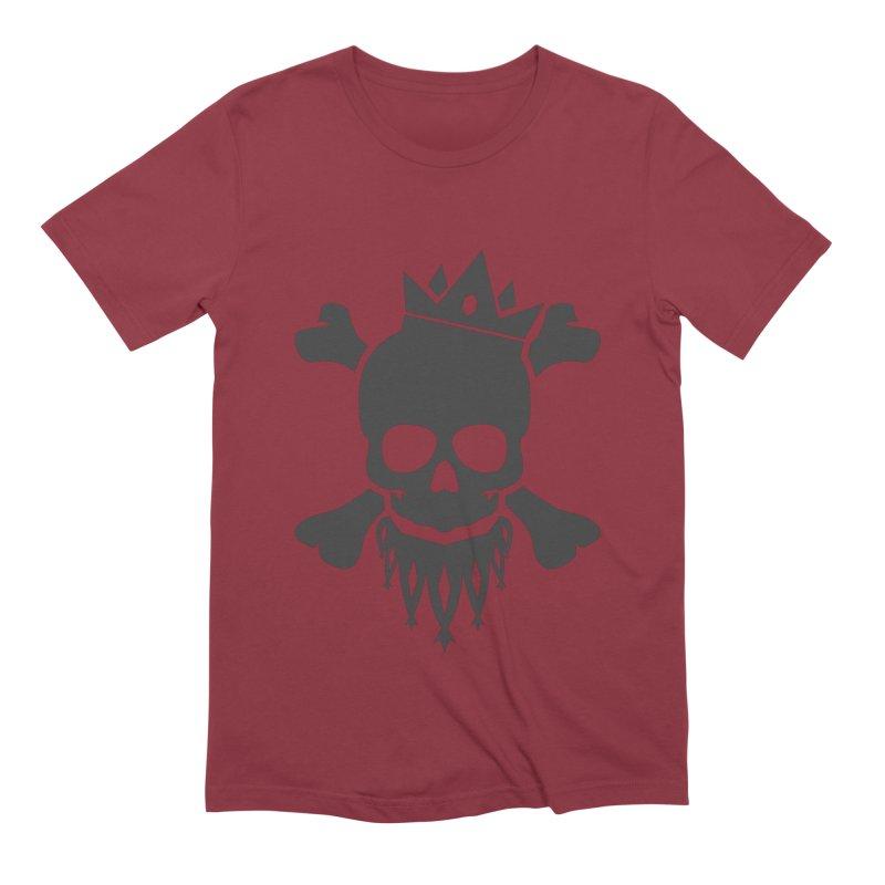 Joker Skull King Men's Extra Soft T-Shirt by Pbatu's Artist Shop