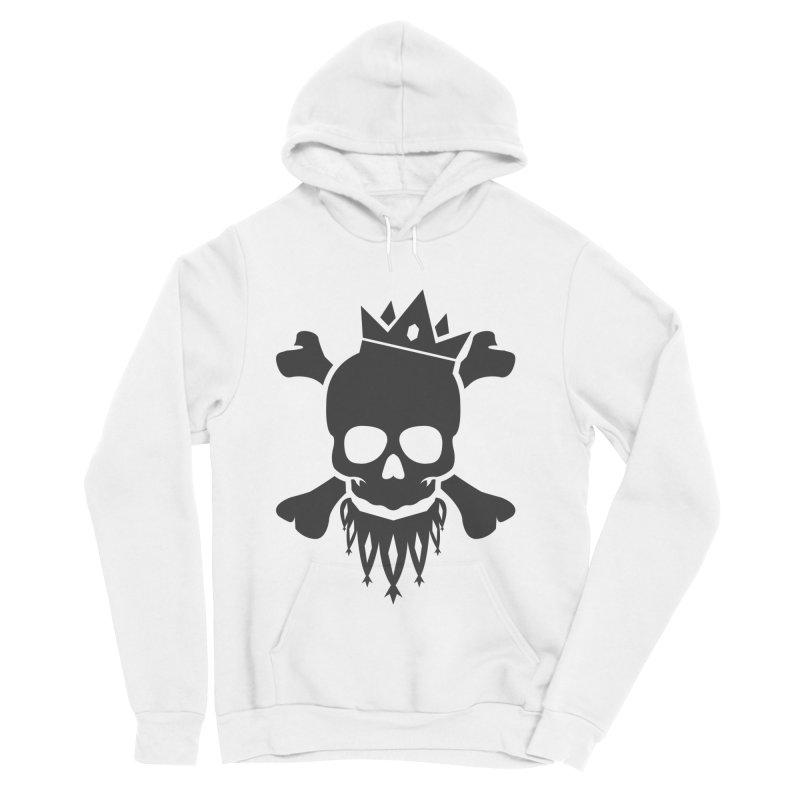 Joker Skull King Women's Sponge Fleece Pullover Hoody by Pbatu's Artist Shop