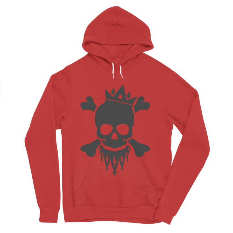 Joker Skull King Men's Sponge Fleece Pullover Hoody by Pbatu's Artist Shop