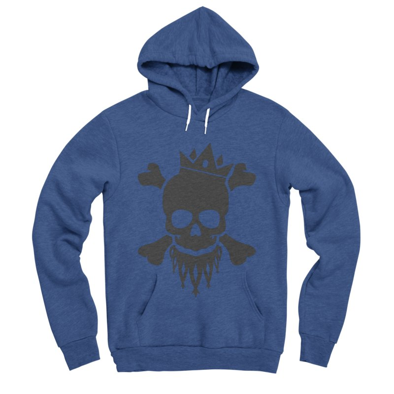 Joker Skull King Women's Sponge Fleece Pullover Hoody by Pbatu's Artist Shop