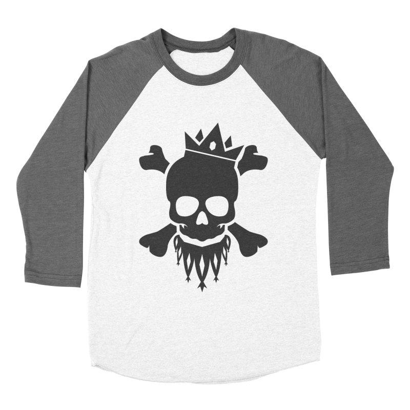Joker Skull King Women's Longsleeve T-Shirt by Pbatu's Artist Shop