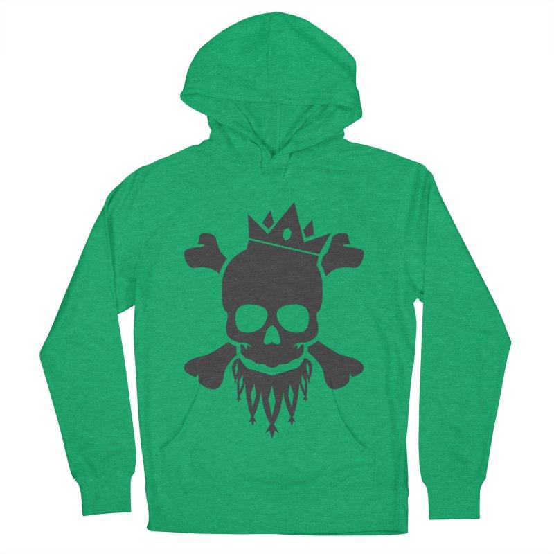 Joker Skull King Men's French Terry Pullover Hoody by Pbatu's Artist Shop