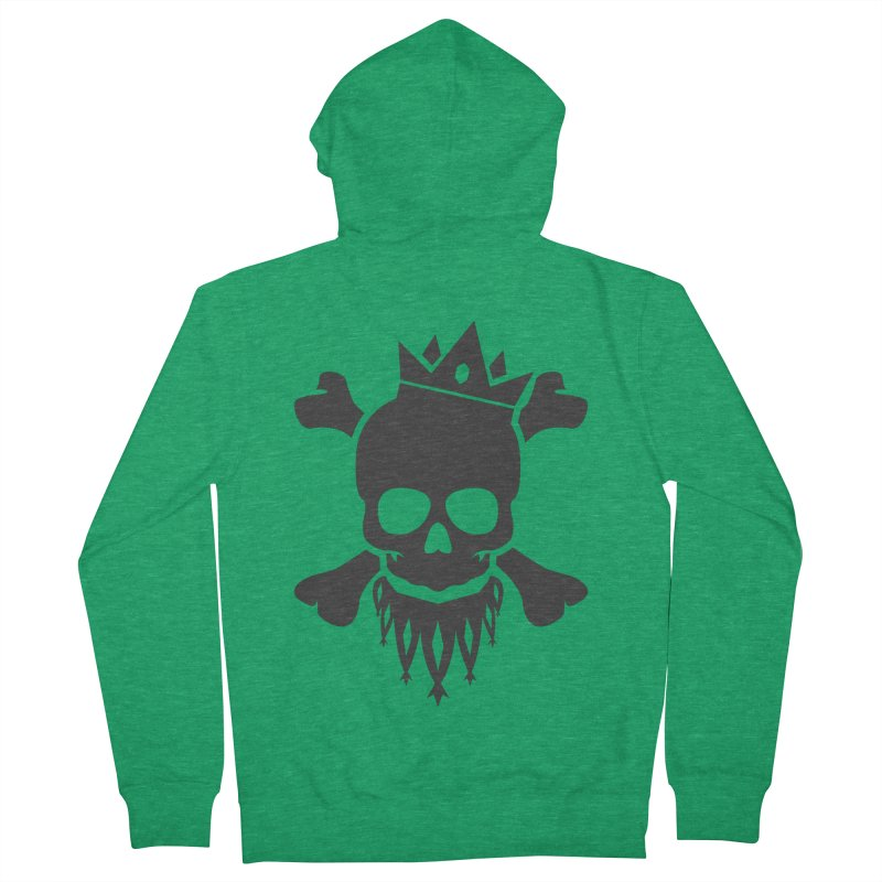 Joker Skull King Men's Zip-Up Hoody by Pbatu's Artist Shop
