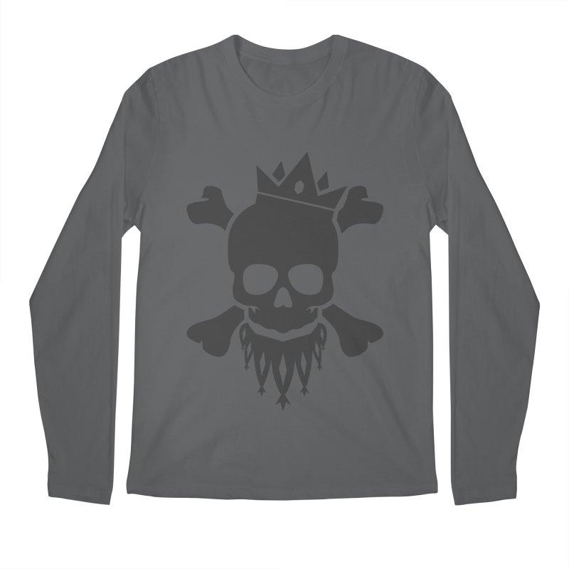 Joker Skull King Men's Longsleeve T-Shirt by Pbatu's Artist Shop