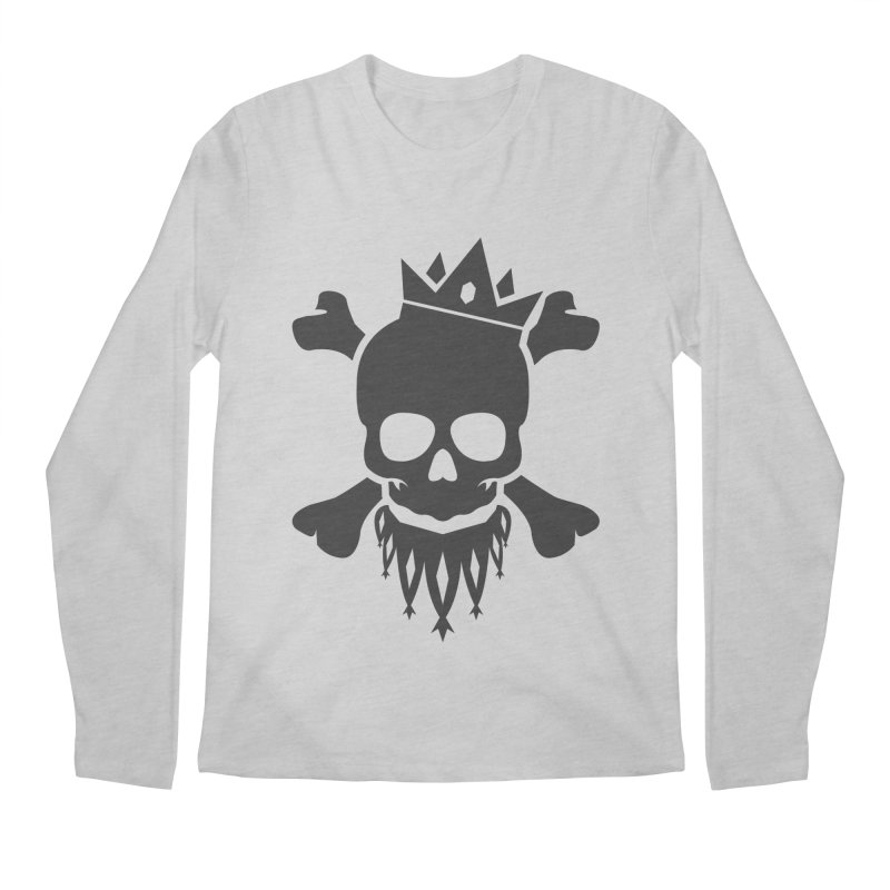 Joker Skull King Men's Regular Longsleeve T-Shirt by Pbatu's Artist Shop