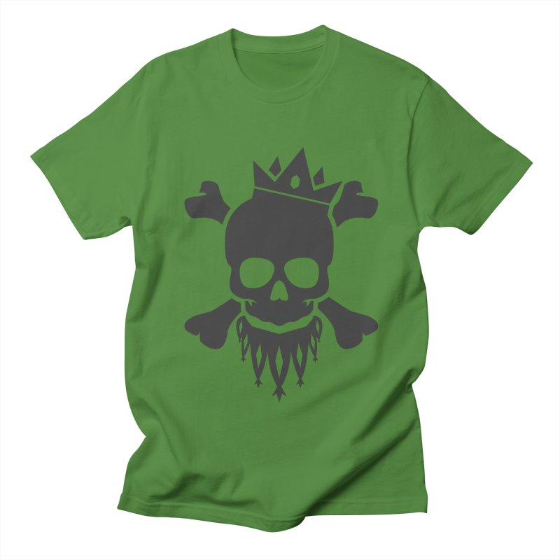 Joker Skull King Women's Regular Unisex T-Shirt by Pbatu's Artist Shop