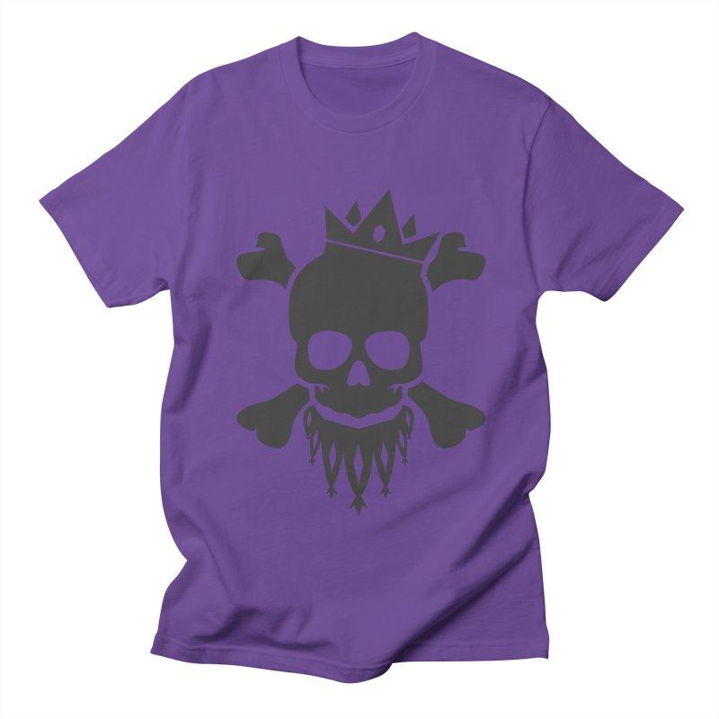 Joker Skull King Men's T-Shirt by Pbatu's Artist Shop