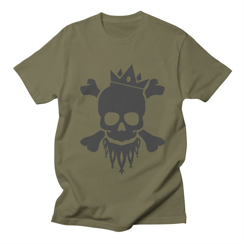Joker Skull King Women's Regular Unisex T-Shirt by Pbatu's Artist Shop