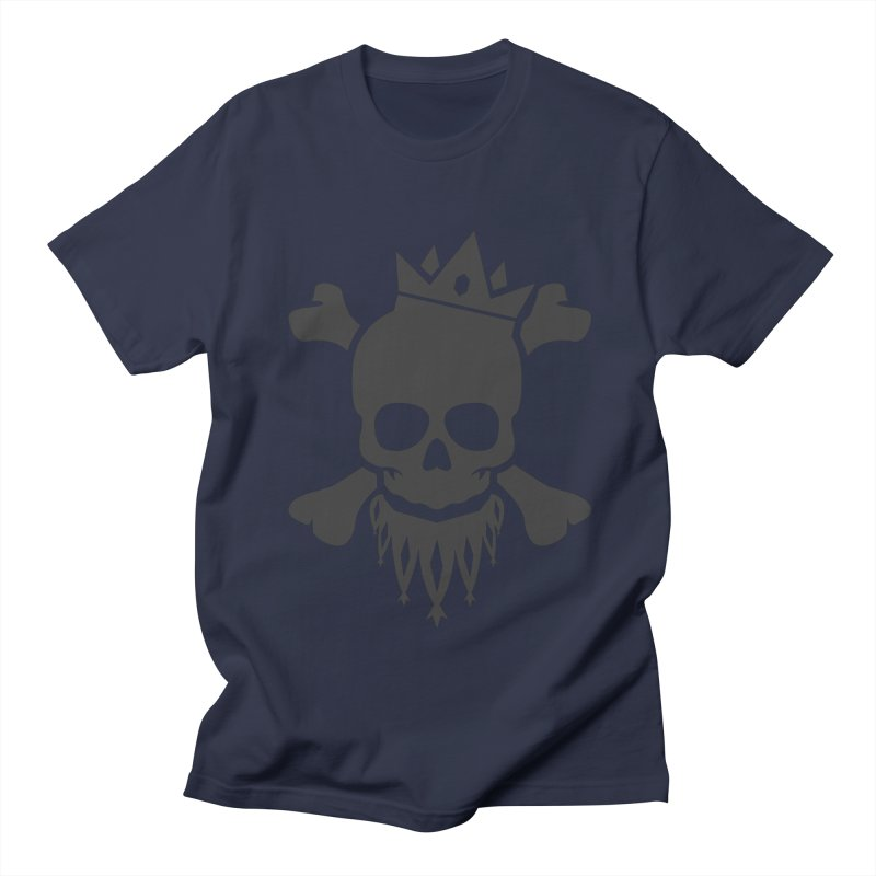 Joker Skull King Men's T-Shirt by Pbatu's Artist Shop