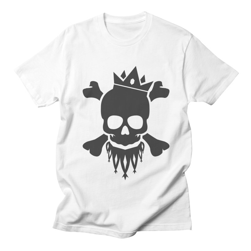 Joker Skull King Men's Regular T-Shirt by Pbatu's Artist Shop