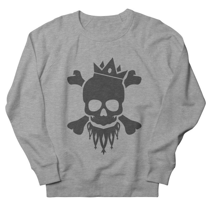 Joker Skull King Women's French Terry Sweatshirt by Pbatu's Artist Shop