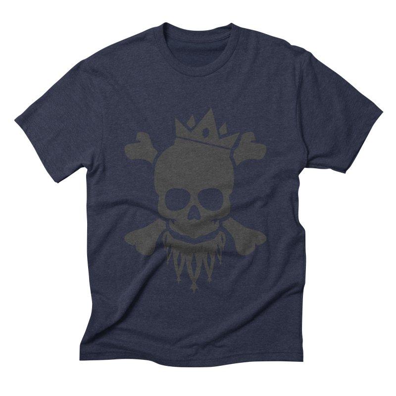 Joker Skull King Men's Triblend T-Shirt by Pbatu's Artist Shop