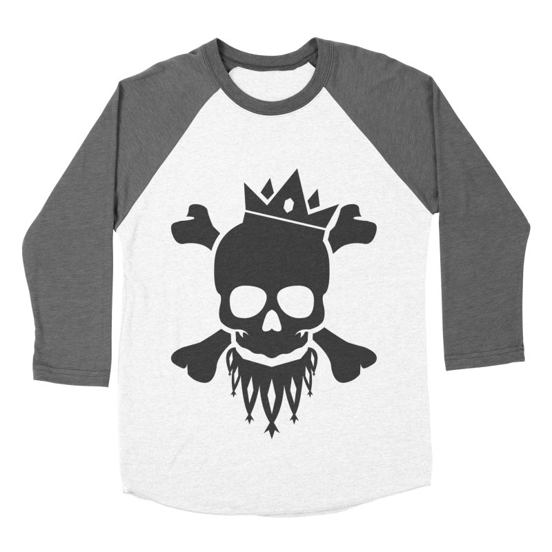 Joker Skull King Women's Baseball Triblend Longsleeve T-Shirt by Pbatu's Artist Shop