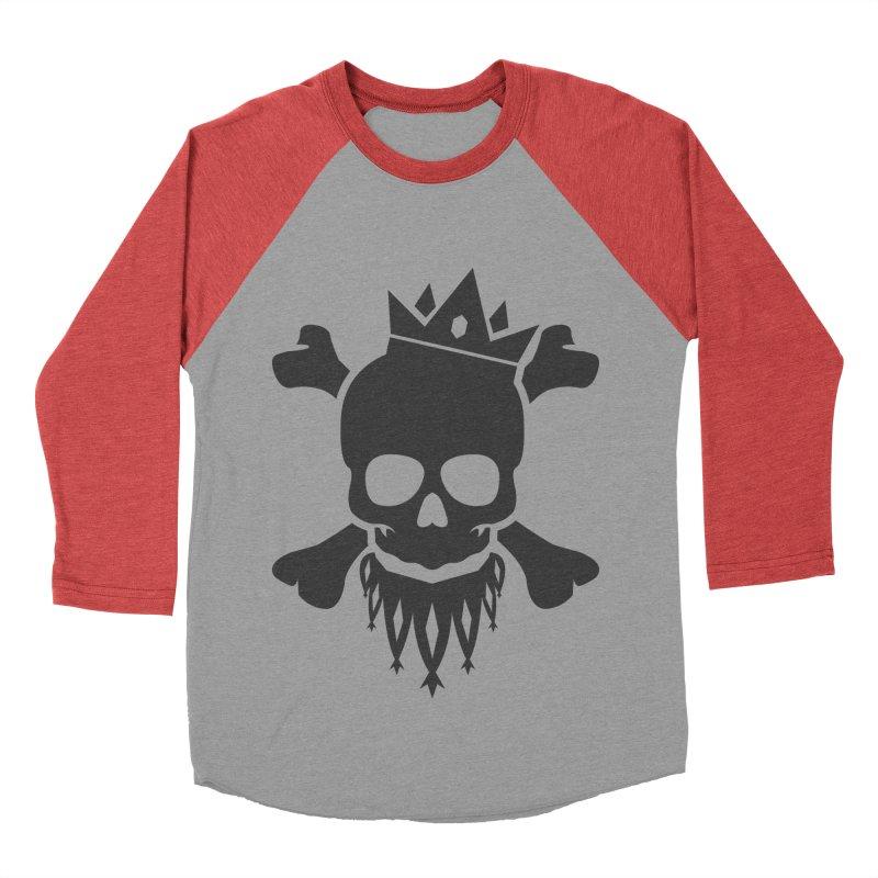 Joker Skull King Women's Longsleeve T-Shirt by Pbatu's Artist Shop