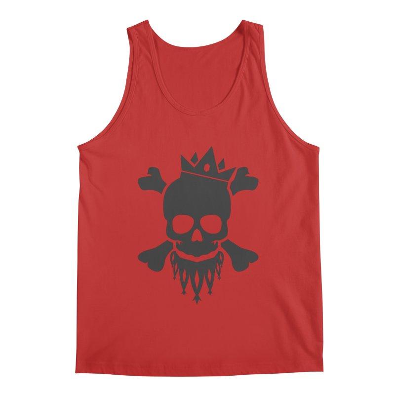 Joker Skull King Men's Regular Tank by Pbatu's Artist Shop