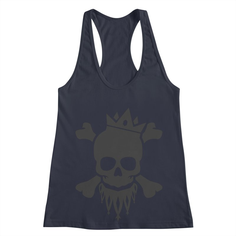 Joker Skull King Women's Racerback Tank by Pbatu's Artist Shop
