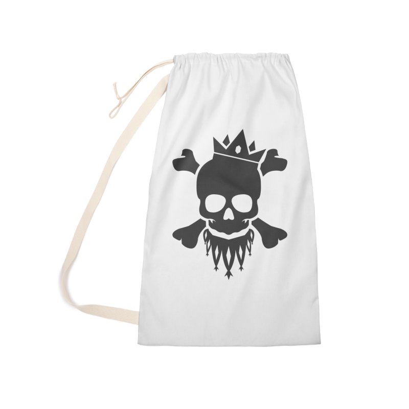 Joker Skull King Accessories Laundry Bag Bag by Pbatu's Artist Shop