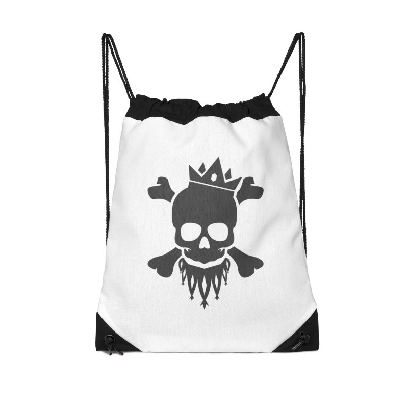 Joker Skull King Accessories Drawstring Bag Bag by Pbatu's Artist Shop