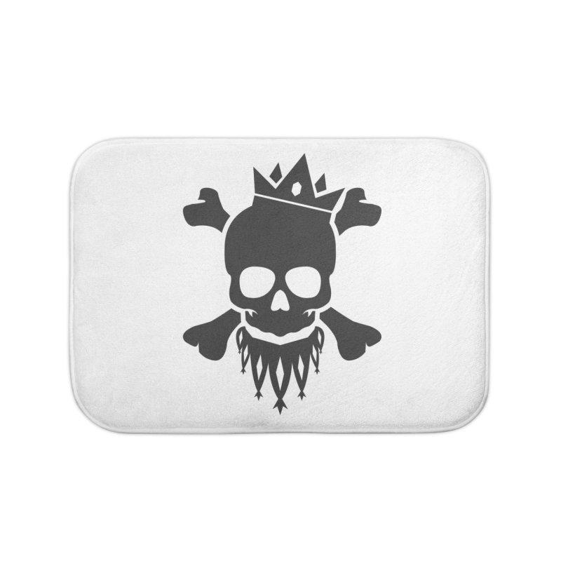 Joker Skull King Home Bath Mat by Pbatu's Artist Shop