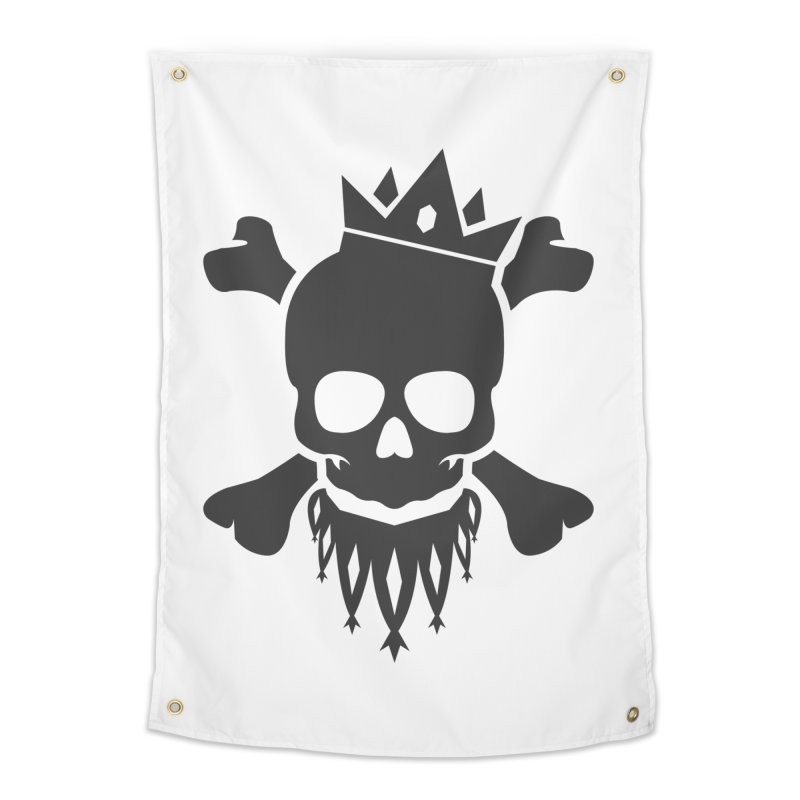 Joker Skull King Home Tapestry by Pbatu's Artist Shop