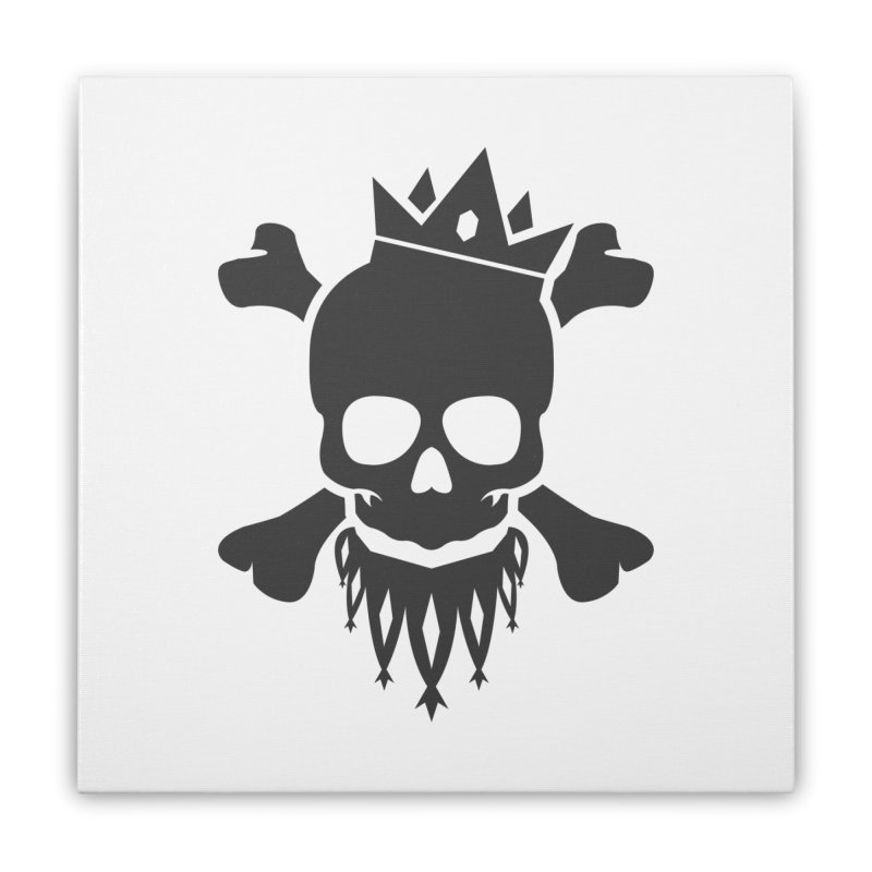 Joker Skull King Home Stretched Canvas by Pbatu's Artist Shop