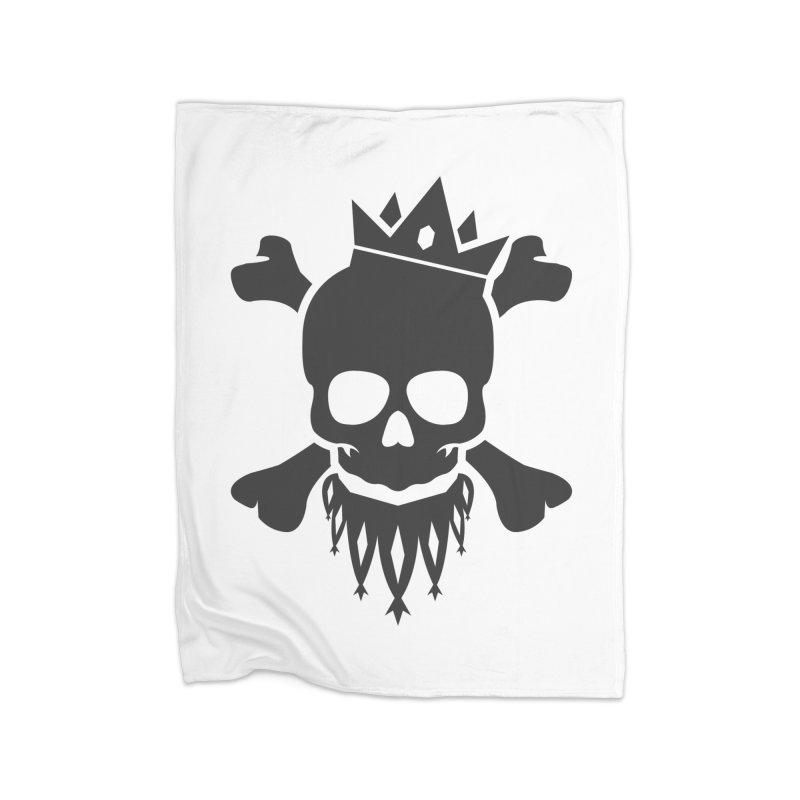 Joker Skull King Home Fleece Blanket Blanket by Pbatu's Artist Shop