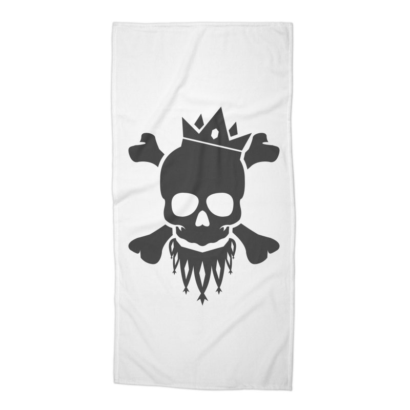 Joker Skull King Accessories Beach Towel by Pbatu's Artist Shop