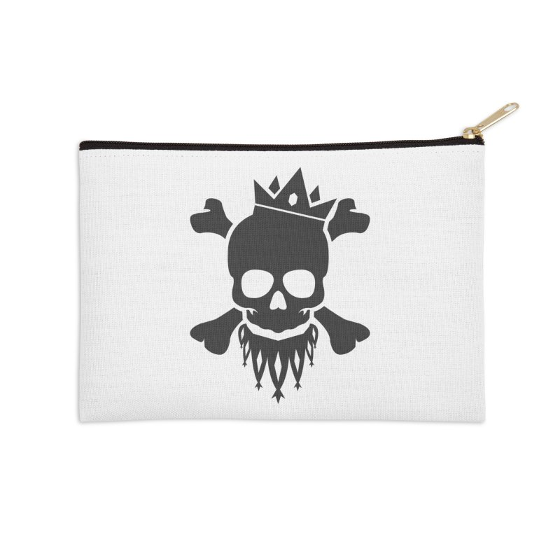 Joker Skull King Accessories Zip Pouch by Pbatu's Artist Shop