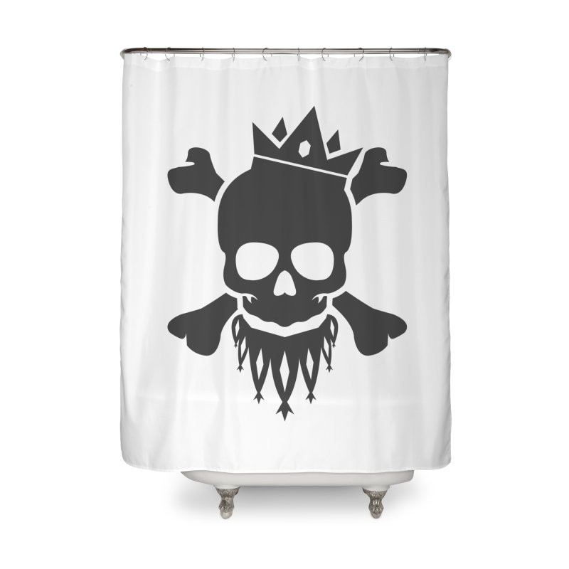 Joker Skull King Home Shower Curtain by Pbatu's Artist Shop