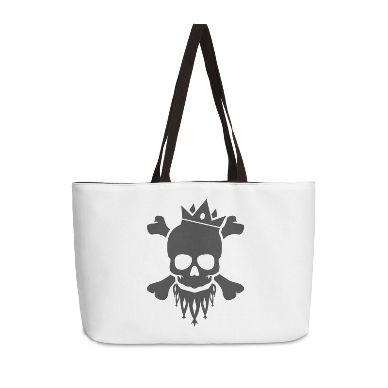 Joker Skull King Accessories Weekender Bag Bag by Pbatu's Artist Shop